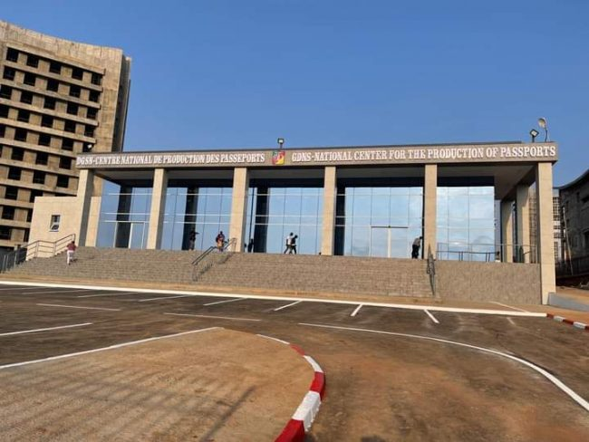 Cameroon National Center for the production of cameroonian biometric passports
