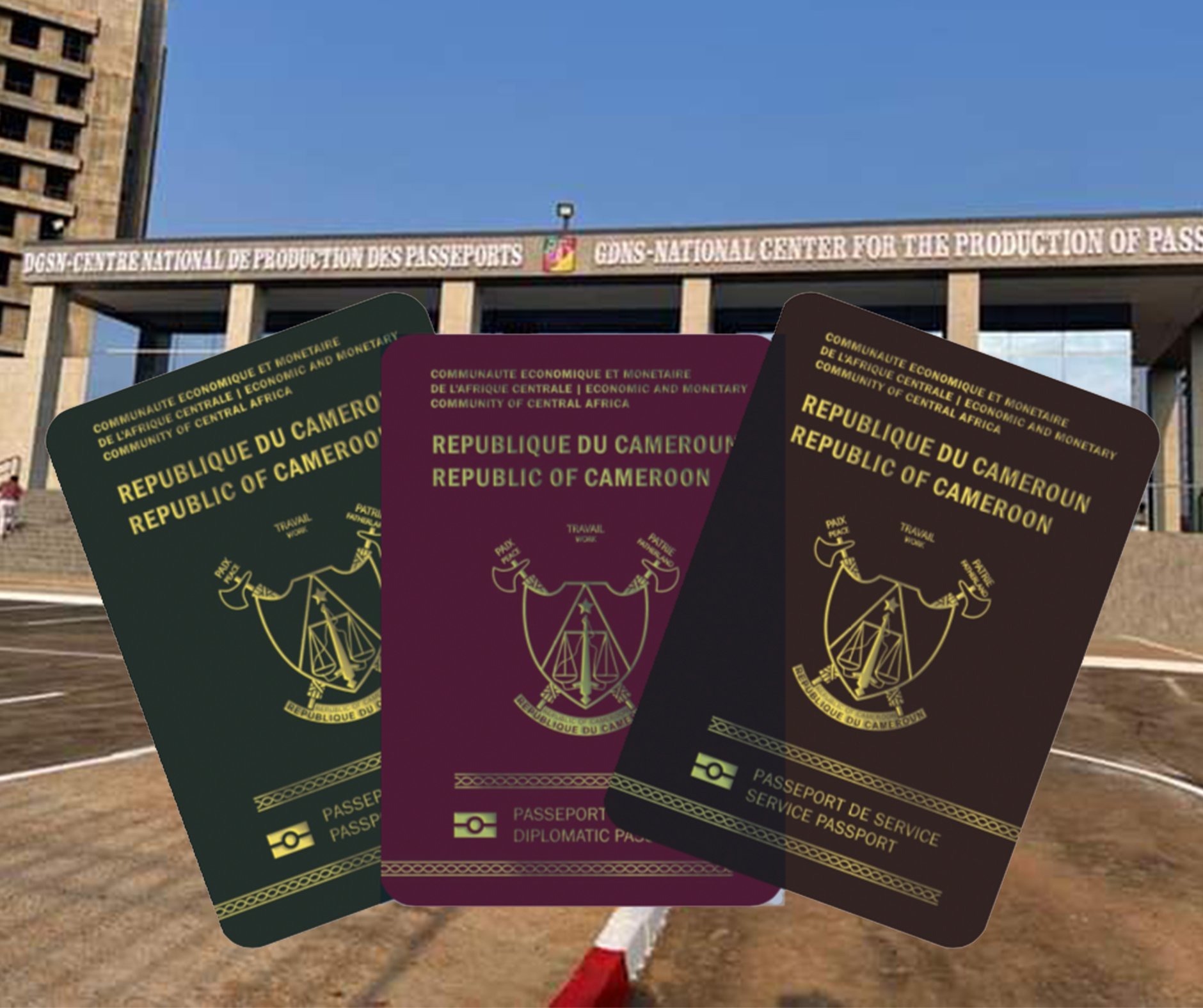 NEW CENTER FOR THE PRODUCTION OF CAMEROONIAN BIOMETRIC PASSPORTS OPENS IN YAOUNDE
